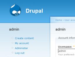 Cambiar el tema de administracion en Drupal 6