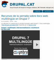 Drupal 7 Multilanguage - drupal.cat